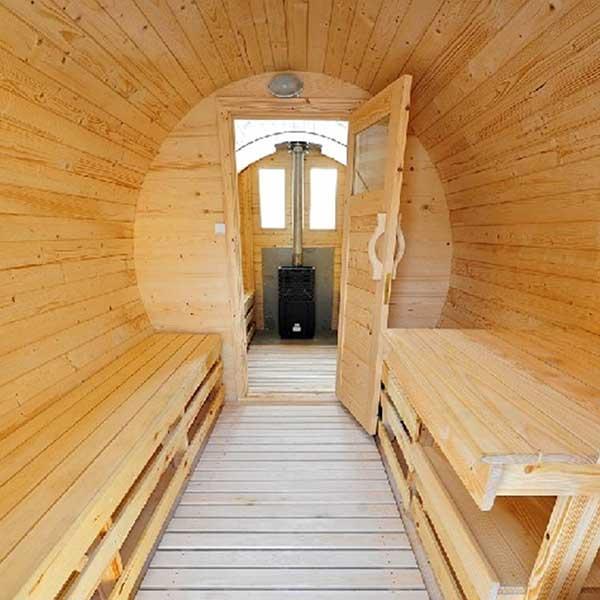 Groovy Sauna ogrodowa, gorąca beczka, balia kąpielowa, beczki kąpielowe HY54